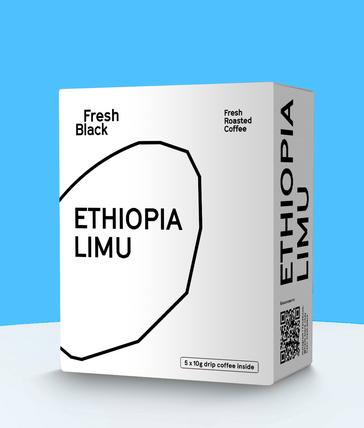 Кофе в дрипах ETHIOPIA LIMU