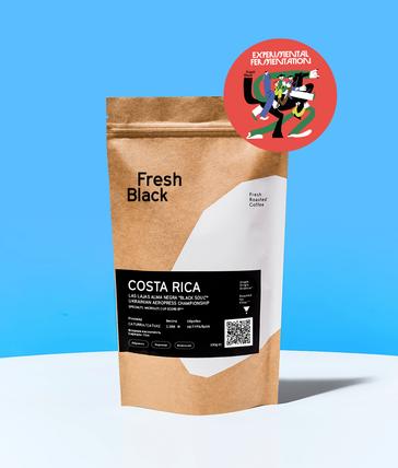 "COSTA RICA LAS LAJAS ALMA NEGRA ""BLACK SOUL"""